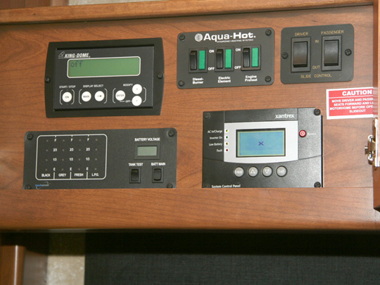 Systems Control Panel